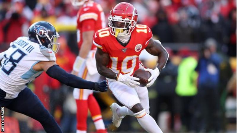 tyreek hill getty