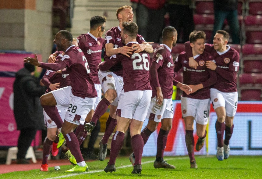 Heart of Midlothian v Rangers - William Hill Scottish Cup - Quarter Final - Tynecastle Park
