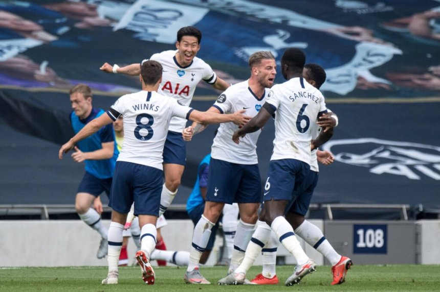 spurs 2-1 arsenal 2020